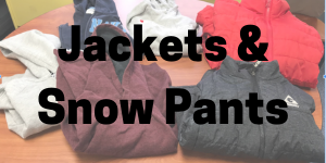 Jackets and Snow Pants Lost and Found Button