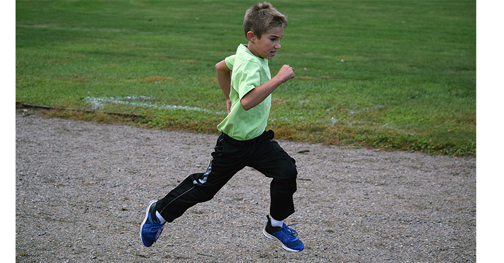 Founders' kid at Fun Run