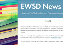 Image featuring the header of the EWSD News
