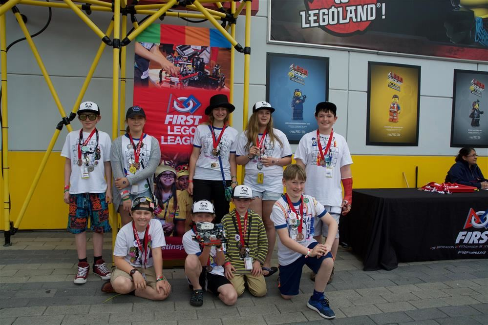 Westford's Lego robotics team