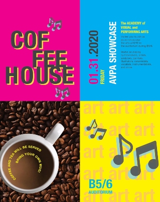 Coffeehouse Flyer