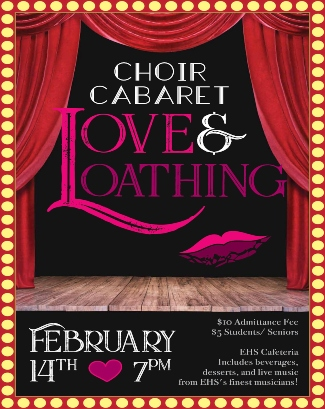 choir cabaret flyer