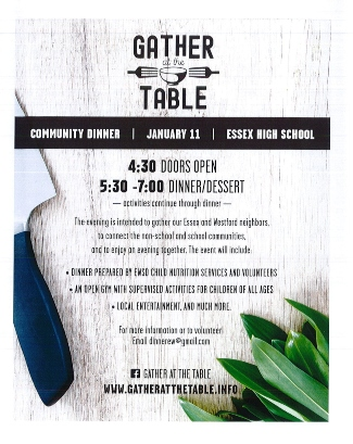Gather at the Table Flyer