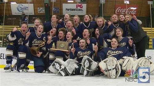 Girls Hockey State Championship Photo