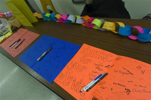 Kindness week table