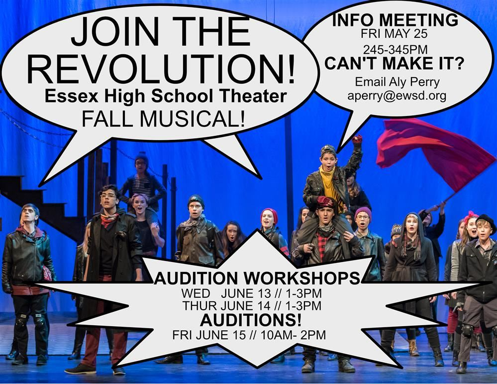 Audition for the Fall Musical! BIG FISH!