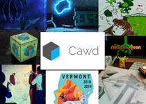 Collage of CAWD work