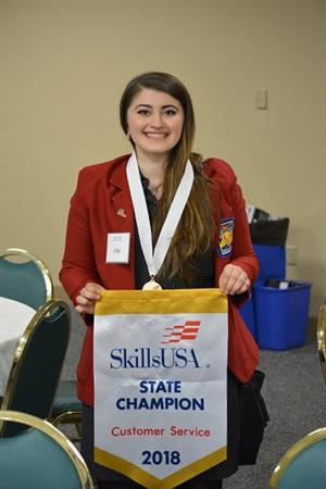 CTE Students Win Big at Skills USA