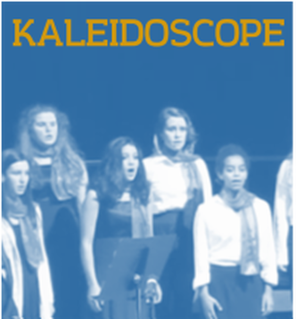 kaleidoscope students performing on stage