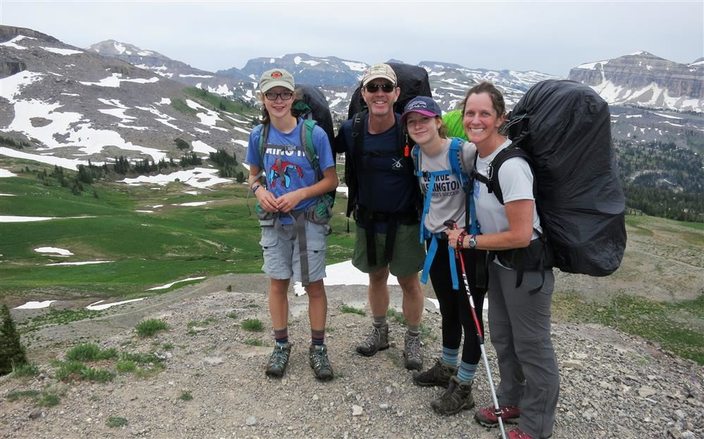 Legg Family in Grand Teton National Park