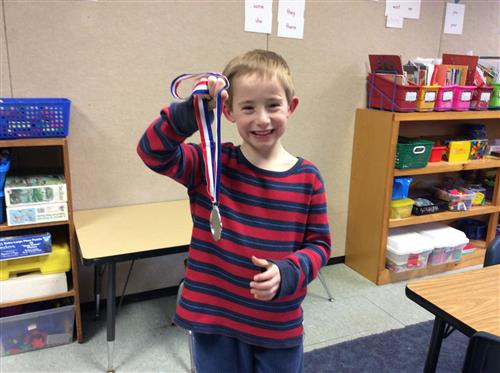 Our Very Own Silver Medalist!