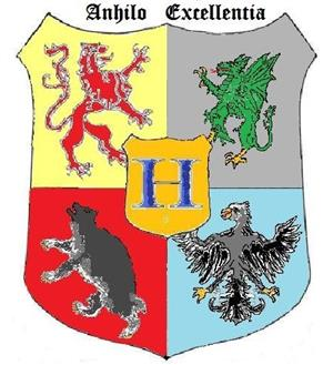 Coat of Arms of Hogwarts