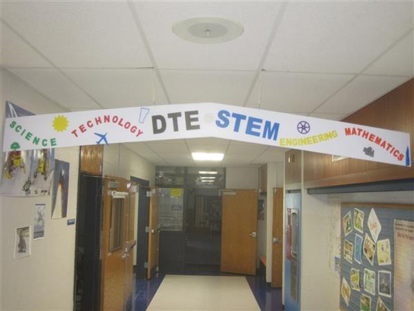 DTE WELCOME SIGN
