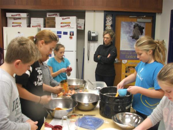 6th Grade Cooking