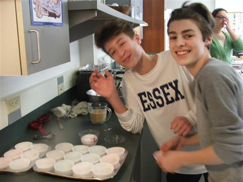 8th Graders Making Maple Muffins, A Farm to School Project