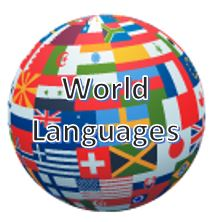 Globe representing World Languages