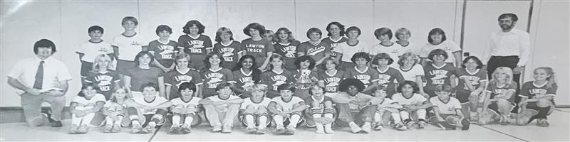 The 1982 ADL Cross Country team.