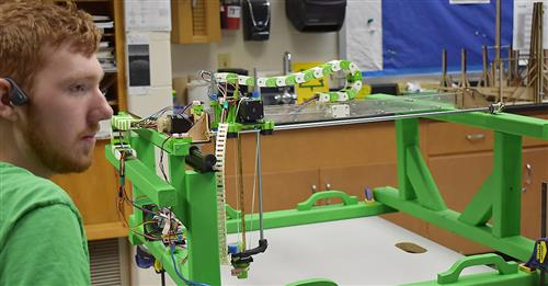 3D printer made from scrap materials