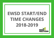 EWSD Start/End Time Changes