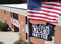 BLM Flag at Founders