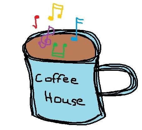 Coffee House Mug with Music Notes
