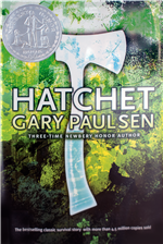 Book Cover of Hatchet by Gary Paulsen
