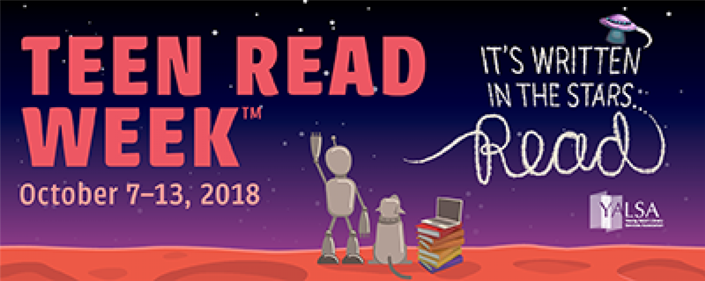 Teen Read Week Oct. 7-13: Stop, Drop & Read