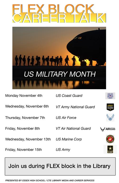 November Career Talk Poster
