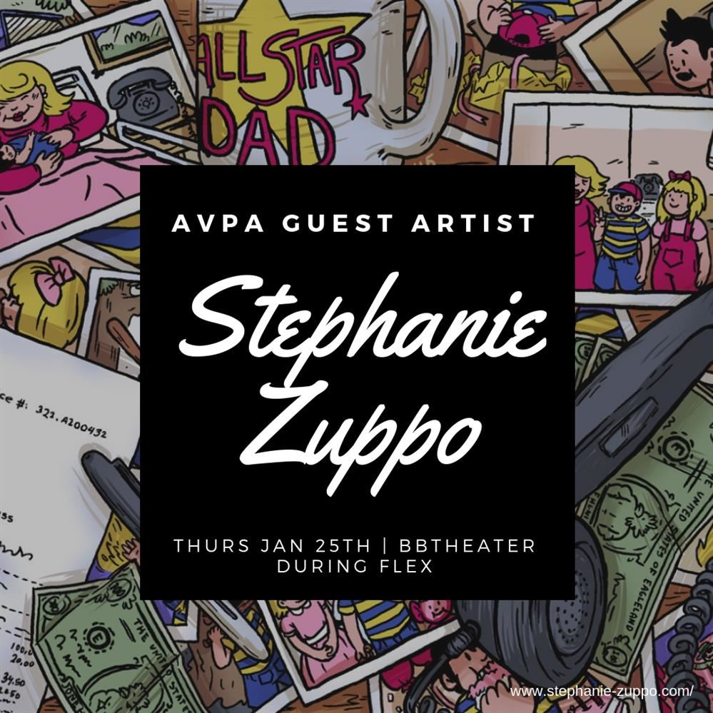 Poster for Stephanie Zuppo