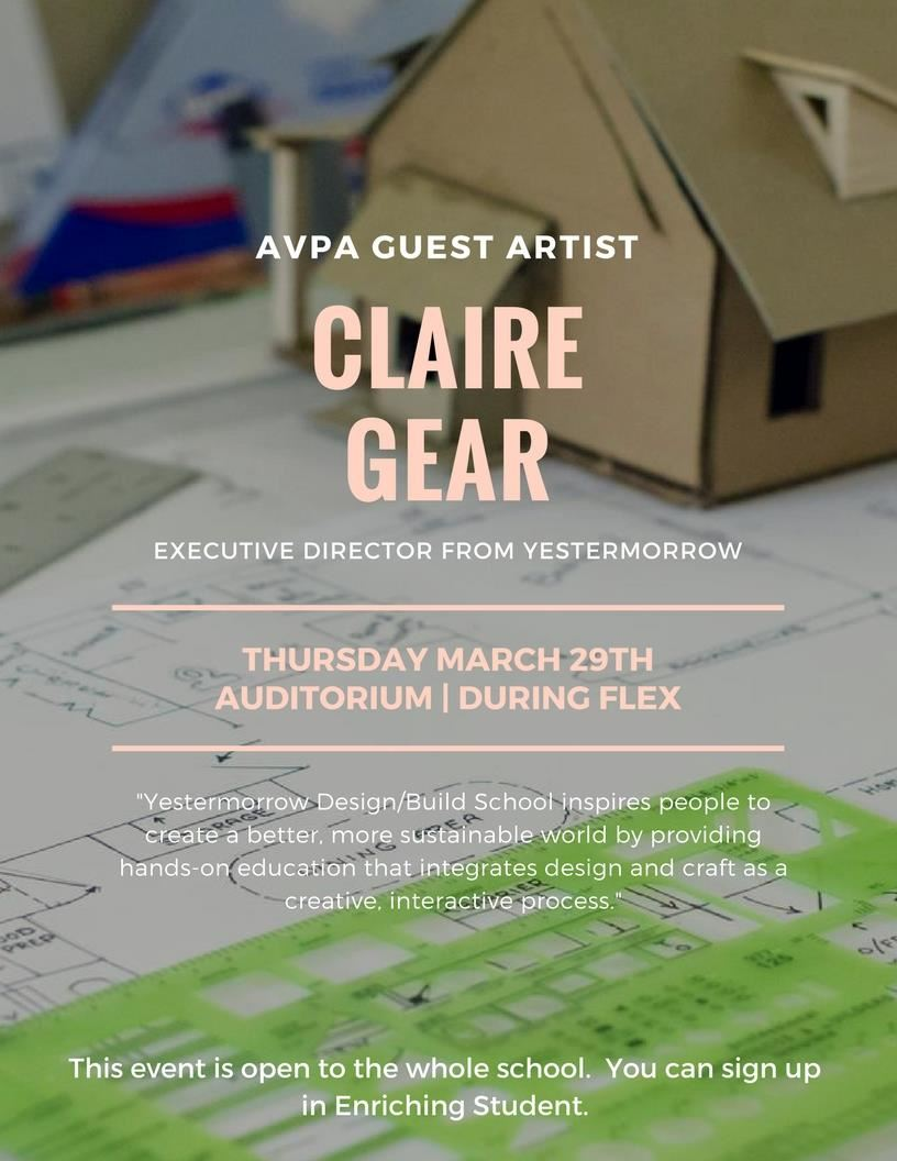 Claire Gear from Yestermorrow