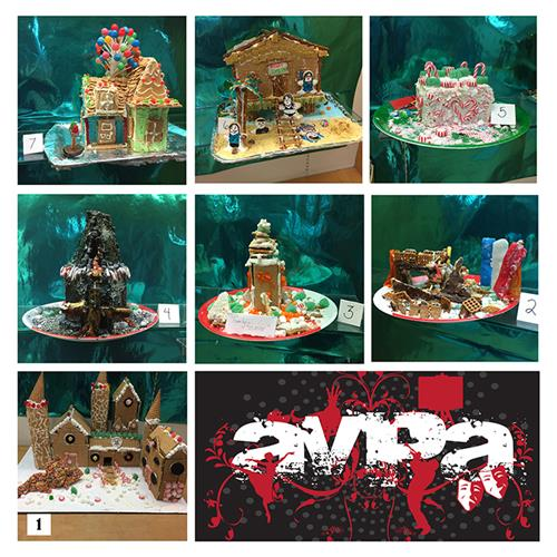2017 Gingerbread Houses