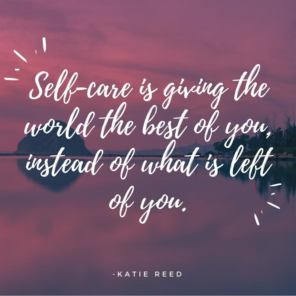 Quote about selfcare